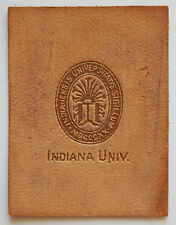INDIANA UNIVERSITY Leather Seal 1910 American Tobacco Card