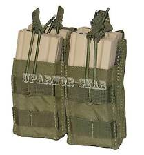 MOLLE Double Stacker for Four 5.56mm .223 Rifle Mag Pouch OD Green (CONDOR MA43)