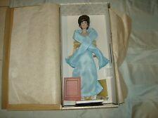 FRANKLIN MINT JACKIE KENNEDY DOLL Light Blue Gown