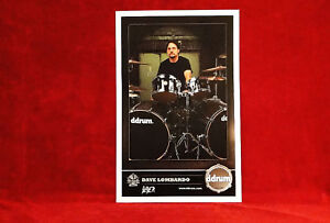 """TWO<<>>Slayer """"Dave Lombardo"""" Ddrums Promo Posters<<>>L@@K"""