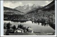Bayern Hintersee mit Göll Brett Alpen Berge Panorama