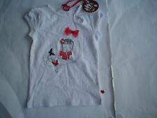 SO 14 paglie Rojo Camiseta, blanco talla gr.104-140