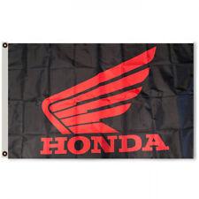 Honda Car Flag Banner 3 x 5 feet  Black