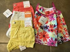 Gymboree Nwt 3T girls floral top & 3 Bubble shorts island Girl