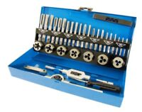 Craft Pro by PRESTO Metric Tap & Die Set M3 - M12 in a Metal Case