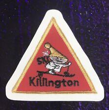 Killington Vt Klink Sticker / Decal 2.75x2.75 Made from vintage Ski patch Image