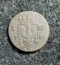 Brandenburg - Preussen 1 Kreuzer 1787 B für Schlesien, siehe Bilder !!⓴