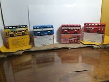 COLLECTABLE VINTAGE MATCHBOX BUSES NO 17 X 4 c1960s and 70s - USED BOXES