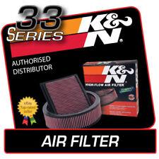 33-2510 K&N High Flow Air Filter fits PEUGEOT 206 GTI-180 RC 2.0 2003-2006