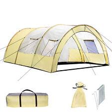 Tienda de Campaña Daniela para 6 Personas Túnel Acampada Camping Impermeable 7eeb3445d7a
