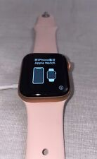 Apple Watch Series 5 40mm Gold-Tone Aluminium Case with Pink Sand Sport Band...
