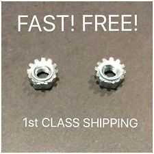 2 OEM Bosch Skil Circular Saw Worm Drive Lock Nuts 2610932460