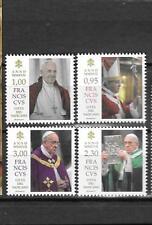 Vatican 2017 Pontificate of Pope Francis MNH Set