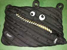 Zipit Teeth Black And Gold Pencil Case