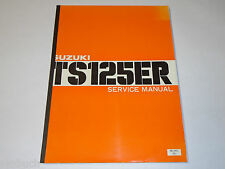 Workshop Manual / Werkstatthandbuch Suzuki TS 125 ER / TS125ER, Stand 04/1979