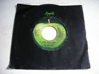 w SLEEVE The Beatles A Hard Day's Night 1971 45rpm
