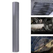 106x50cm Tinting Perforated Mesh Film Fly-Eye MOT Legal Tint Headlight Light Car