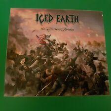 "double CD DIGIPAC ICED EARTH ""  the glorious burden ""  heavy metal"