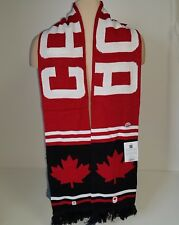 HBC Winter Olympics Canada ADULT Scarf Canadian Knit 2018 Pyeong Chang NEW