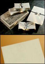 FLORENTIA Firenze FABRIANO 50 Buste nastrate + Fogli Carta da Lettera Lettere