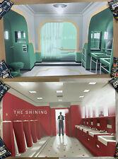THE SHINING Screen Print Poster AP SET #3 Mondo JC Richard Red & Room 237