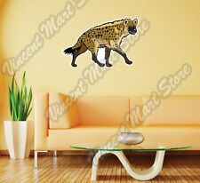 """Spotted Laughing Hyena Africa Animal Wall Sticker Room Interior Decor 25""""X20"""""""