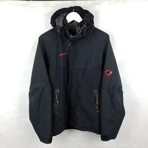 Mammut Cayambe 4S Mens Waterproof Goretex Black Rain Jacket Size M 1010 05130