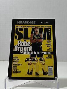 Kobe Bryant 2020-2021 NBA Hoops SLAM Magazine Card No. 19 Lakers