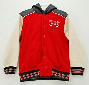 Zara Kids NBA Chicago Bulls Bomber Jacket Size 8