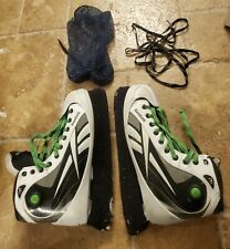 New listing Reebok Pro 7K pump  Men's Black/White/Green Ice Hockey Ice Skates - US 12