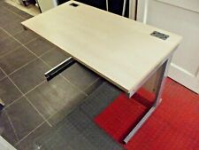 OFFICE DESK. Imperial Office Furniture wood and metal desk.