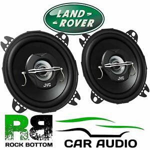 "JVC Land Rover Defender 110 Front Dash 4"" 10cm 2 Way 420 Watts Car Speakers"
