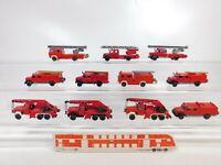 CA496-0,5# 11x Wiking 1:87/H0 LKW Magirus FW/Feuerwehr: 61 n + 62 n etc, 2. Wahl