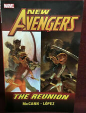 NEW AVENGERS: THE REUNION BY MCANN & LOPEZ ~MARVEL TPB NEW