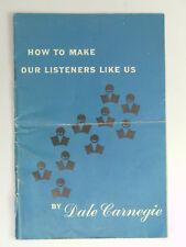 Vintage Dale Carnegie Booklets (Lot of Three) Secrets of Success