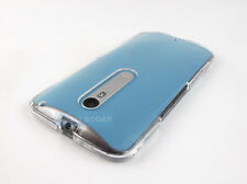 FOR MOTOROLA MOTO X PURE EDITION STYLE CRYSTAL CLEAR SEE-THRU SNAP-ON CASE COVER