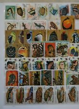 50 Large & Colorful Stamps All Different Fish, Mammals, Amphibians, Reptiles