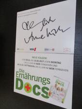 73020 Die ERnährungs Docs TV Musik Film original signierte Autrogrammkarte