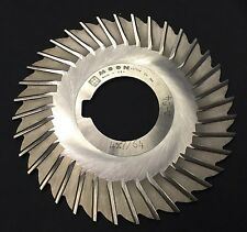 Moon 4 x 7/64 x 1-1/4 40T Straight Tooth Side Mill Slitting Saw