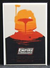 "The Empire Strikes Back Movie Poster 2"" X 3"" Fridge Magnet. Star Wars Boba Fett"