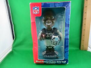 NFL Hand Painted Bobble Head Doll Collectible Series SHAUN ALEXANDER SEAHAWKS