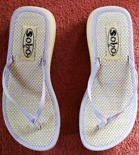 Soho Flip Flops Size 6