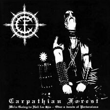 CARPATHIAN FOREST - WE'RE GOING TO HELL FOR THIS - CD SIGILLATO DIGIPACK 2007