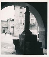 SOSPEL c.1935 -  Fontaine Sise sous Les Arcades  Alpes-Maritimes - Div 7564