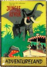 Disney Pin 49916 WDI Disneyland Attraction Poster Jungle River Cast Member LE *
