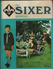 THE SIXER ANNUAL 1974 FOR ALL CUB SCOUTS HARD BACK BOOK