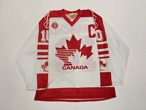 DALE HAWERCHUK Team Canada World Championships Tackla Replica 1989 Hockey Jersey