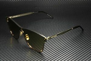 SAINT LAURENT YSL 51 MASK 003 Mask Gold Light Green 99 mm Unisex Sunglasses