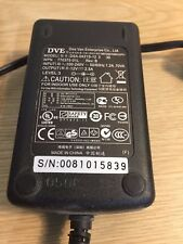 DVE DSA-0421S-12 12V 2.5AMP POWER SUPPLY FOR DELL WYSE SX0 THIN CLIENT