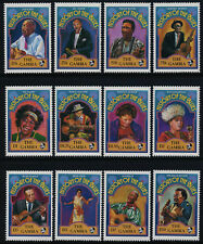 Gambia 1178-89 MNH Famous Blues Musicians